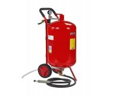 Mobiles Soda Sandstrahlgerät - Strahlkessel 75,5 Liter
