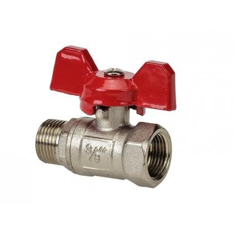 Kugelhahn für die Strahlmittel- Zufuhr vom Strahlkessel PP-T 0012