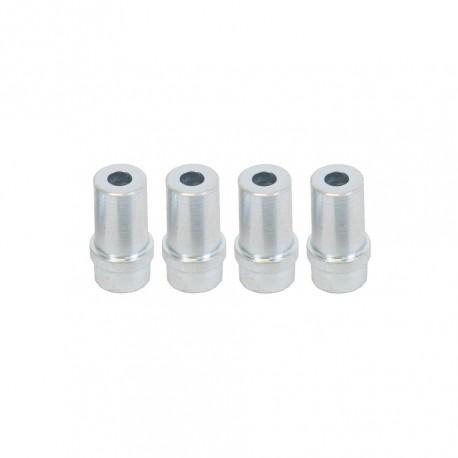 Düsensatz aus Stahl 7 mm - 4 Stück für Strahlpistole - Strahldüsen Set 4 Stk. aus Stahl